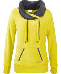 bpc bonprix collection Fleece-Shirt langarm in grün für Damen von bonprix
