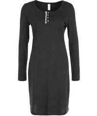 Skiny Nachthemd coal grey