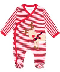 JoJo Maman Bébé Pyjama red/white