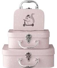 Bloomingville Dětský kufřík Blush - tři velikosti Velikost S