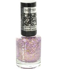 Rimmel London Glitter Medium Coverage Nail Polish 8ml Lak na nehty W - Odstín 012 Glitter Fingers