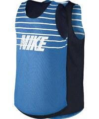 Nike KNIT TANK-REVERSIBLE modrá L