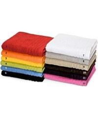 C du Linge 7. Lot 2 serviettes invité 30x50 cm Perle Blanc