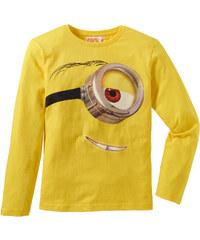 T-shirt manches longues MINIONS jaune enfant - bonprix