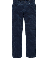 bpc selection Pantalon en velours côtelé Regular Fit Straight, N. bleu homme - bonprix
