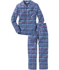 bpc bonprix collection Pyjama en flanelle rouge manches longues lingerie - bonprix