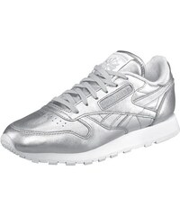 Sneaker Classic Leather Spirit Reebok silberfarben 36,37,38,39,40,41,42