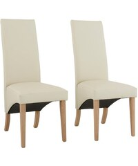 HOME AFFAIRE Stuhl Brest (2er 4er 6er Set) beige