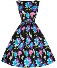 LINDY BOP Dámské šaty Audrey Tropical Floral