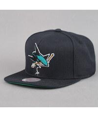 Mitchell & Ness Wool Solid San Jose Sharks černá / zelená