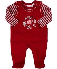 Kanz Unisex - Baby Bekleidungsset Strampler + T-Shirt 1/1 Arm, Einfarbig