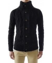 Pánský svetr Zinbar černý - Černá