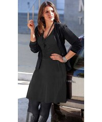 Černé zavinovací šaty, dámské šaty SHEEGO 40 černá