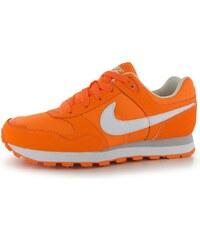 Nike MD Runner Trainers dětské Girls Orange/White