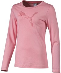 Puma FUN GRAPHIC ESS LS TEE GIRLS 116