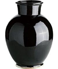 Tine K Home Keramická váza Morroco Black 37 cm