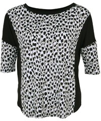 DKNY Intimates AVENUE D Nachtwäsche Shirt winter white animal