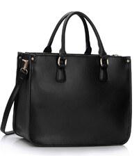 L&S Fashion (Anglie) Kabelka LS00392 černá