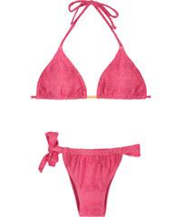 Cia Maritima Maillots de bain femme Bikini Bresilien - Leather Pink