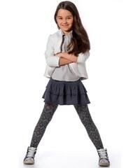 Punčochové kalhoty dívčí Mona Rombi, šedá