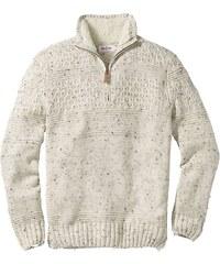 John Baner JEANSWEAR Pulovr s límečkem na zip, Regular Fit bonprix