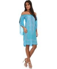 Ibizaline Dámské šaty NA03 TURQUESA