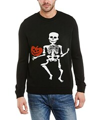 Run & Fly Unisex Pullover Halloween 3D Skeleton