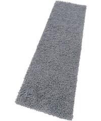 Hochflor-Läufer Collection Lakan Höhe 28 mm reine Schurwolle HOME AFFAIRE COLLECTION grau 13 (B/L: 90x250 cm)