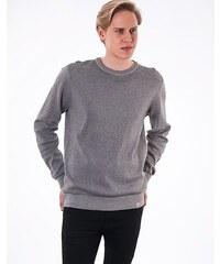 Svetr Carhartt WIP Birdseye Sweater Grey Heather / Duke Blue