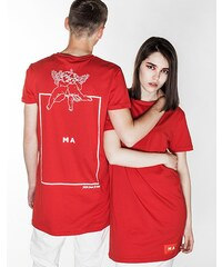 Triko Marshal Apparel MA x Pasta Oner Capsule Tall Tee red