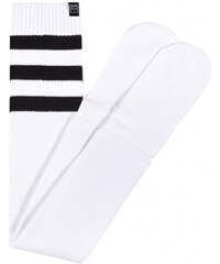 Ponožky Marshal Apparel Overknee Stripe Socks White