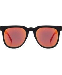 Sluneční brýle Komono Riviera Mirror black rubber red mirror