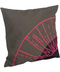 Madam Stoltz Povlak na polštář Canvas/denim Neon pink
