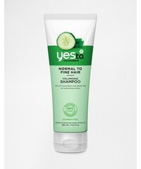 Yes To - Shampooing volumateur au concombre 280 ml - Clair