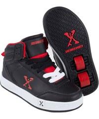Sidewalk Sport Sport Hi Top Childrens Black/Red