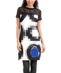 Dámské šaty Desigual CHRISTOPHER blanco XS