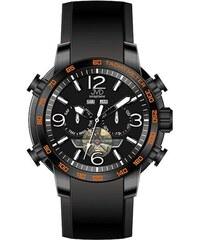 203fd04f29d Vodotěsné chronograf hodinky JVD Seaplane W50.2 10ATM AUTOMATY (bez baterie)