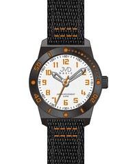 Černooranžové dětské chlapecké sportovní hodinky JVD basic J7129.2 5ATM a90379f474