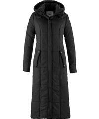bpc bonprix collection Manteau long légèrement rembourré noir manches longues femme - bonprix