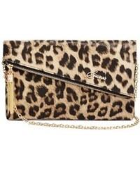 Guess Kabelka Rosie Clutch leopard