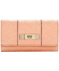 Guess Peněženka Abelia Logo-Embossed Slim Clutch