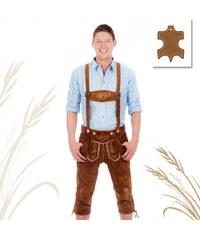 Lesara Pantalon de cuir traditionnel bavarois