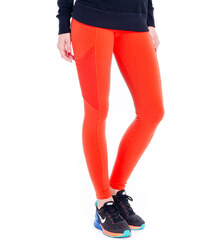 Ccm Legging Fitness Orange Foncé, Poches Ajourées - Fuseau Yacatas