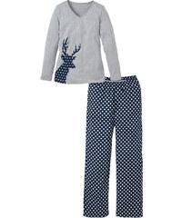 bpc bonprix collection Pyjama bleu manches longues lingerie - bonprix