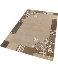 Teppich Napura handgearbeitet Wolle THEKO natur 1 (B/L: 50x80 cm),2 (B/L: 70x140 cm),3 (B/L: 140x200 cm),4 (B/L: 160x230 cm),5 (B/L: 90x160 cm),6 (B/L: 190x290 cm)