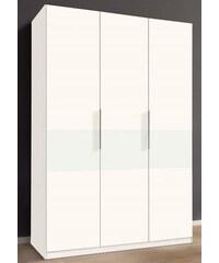 Kleiderschrank Amsterdam fresh to go weiß-Weißglas
