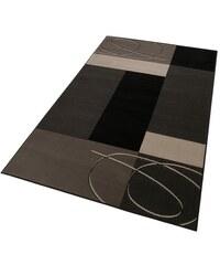 Teppich DESSEL grafisch modern gemustert gewebt HANSE HOME grau 1 (B/L: 60x110 cm),2 (B/L: 70x140 cm),3 (B/L: 120x170 cm),4 (B/L: 160x230 cm),6 (B/L: 190x280 cm),7 (B/L: 240x330 cm)