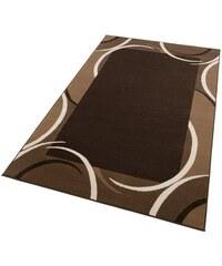 Teppich Doische grafische Musterung mit Bordüre gewebt HANSE HOME braun 1 (B/L: 60x110 cm),2 (B/L: 70x140 cm),3 (B/L: 120x170 cm),4 (B/L: 160x230 cm),6 (B/L: 190x280 cm),7 (B/L: 240x330 cm)