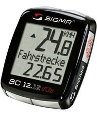 SIGMA SPORT Sport Fahrradcomputer kabellos Topline 2012 BC 12.12 STS schwarz