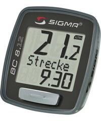 Sport Fahrradcomputer kabelgebunden Topline 2012 BC 8.12 SIGMA SPORT schwarz